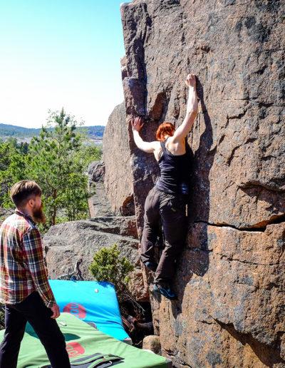 Bouldering in Åland